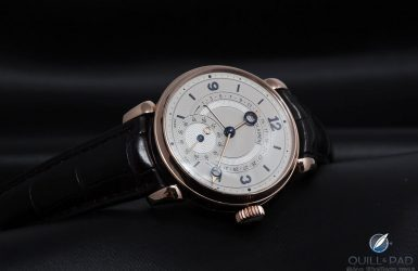 Kari Voutilainen 217QRS With Retrograde Date: Striving For Perfect Beauty | Quill & Pad