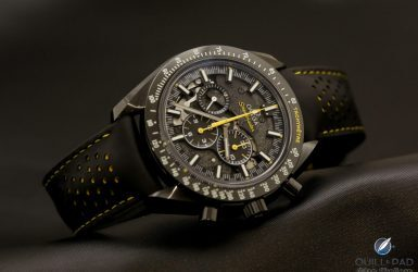 Omega Speedmaster Dark Side Of The Moon Apollo 8: Commemorating The First Humans Ever To See The Other Side Of The Moon (With Video) | Quill & Pad