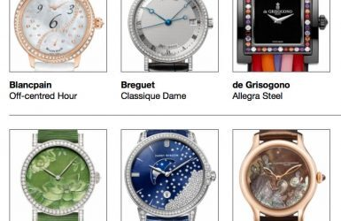 Pre-Selected Ladies: Round Table Discussion Of The Grand Prix d'Horlogerie de Genève 2014   Quill & Pad