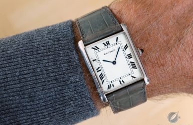The 'Unknown' Cartier Tank: The Louis Cartier Jumbo | Quill & Pad