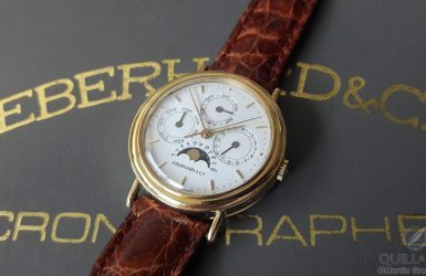 Vintage Eberhard & Co. Les Quantièmes: A Complete Calendar At A (Relatively) Affordable Price | Quill & Pad