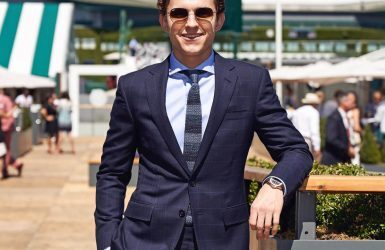 Wrist Watching: Tom Holland, Your Friendly Neighborhood Spider-Man, Wears Patek Philippe Aquanaut To 2018 Wimbledon Men's Final | Quill & Pad